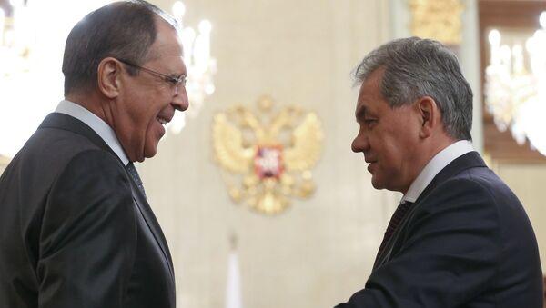 Lavrov i Šojgu - Sputnik Srbija
