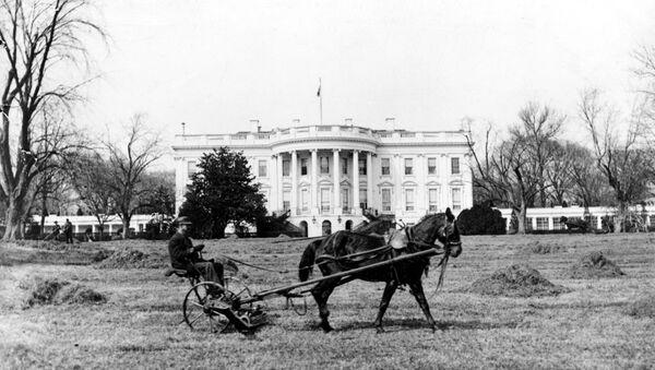 Бела кућа на крају 19. века у Вашинготну, САД - Sputnik Србија