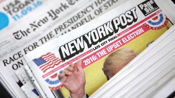 Њујорк пост новине - Sputnik Србија