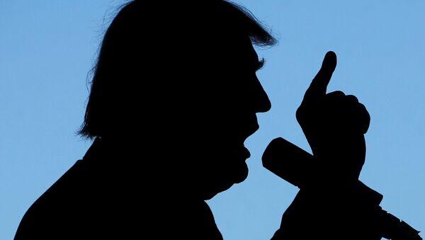 Donald Tramp tokom kampanje - Sputnik Srbija