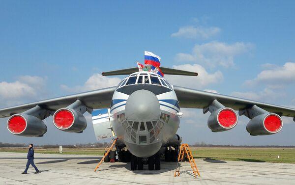 Иљушин спреман за полетање - Sputnik Србија