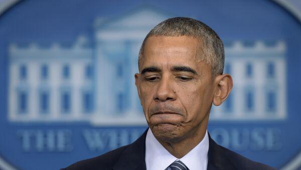 Američki predsednik Barak Obama na konferenciji za medije u Beloj kući - Sputnik Srbija