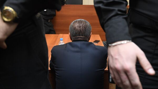 Бивши министар за економски развој Алексеј Уљукајев у суду у Москви - Sputnik Србија