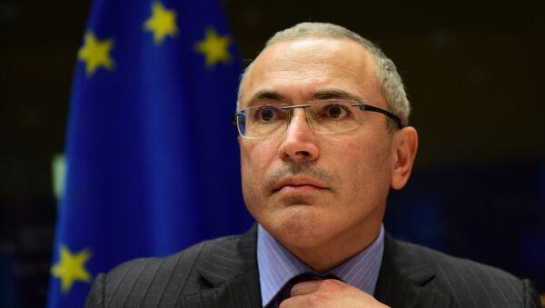 Бивши директор Јукоса Михаил Ходорковски - Sputnik Србија