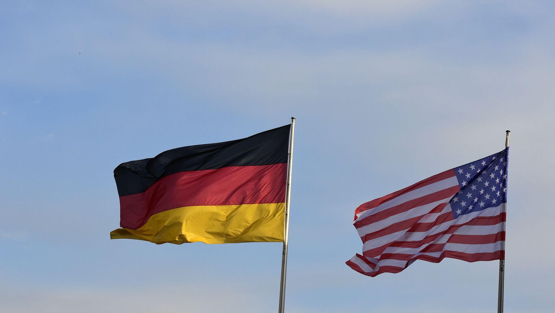 Zastave Nemačke i SAD  - Sputnik Srbija, 1920, 06.05.2021
