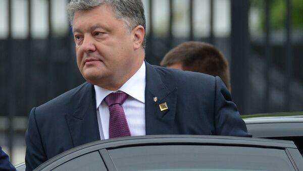 Petro Porošenko na Samitu NATO-a u Varšavi. - Sputnik Srbija