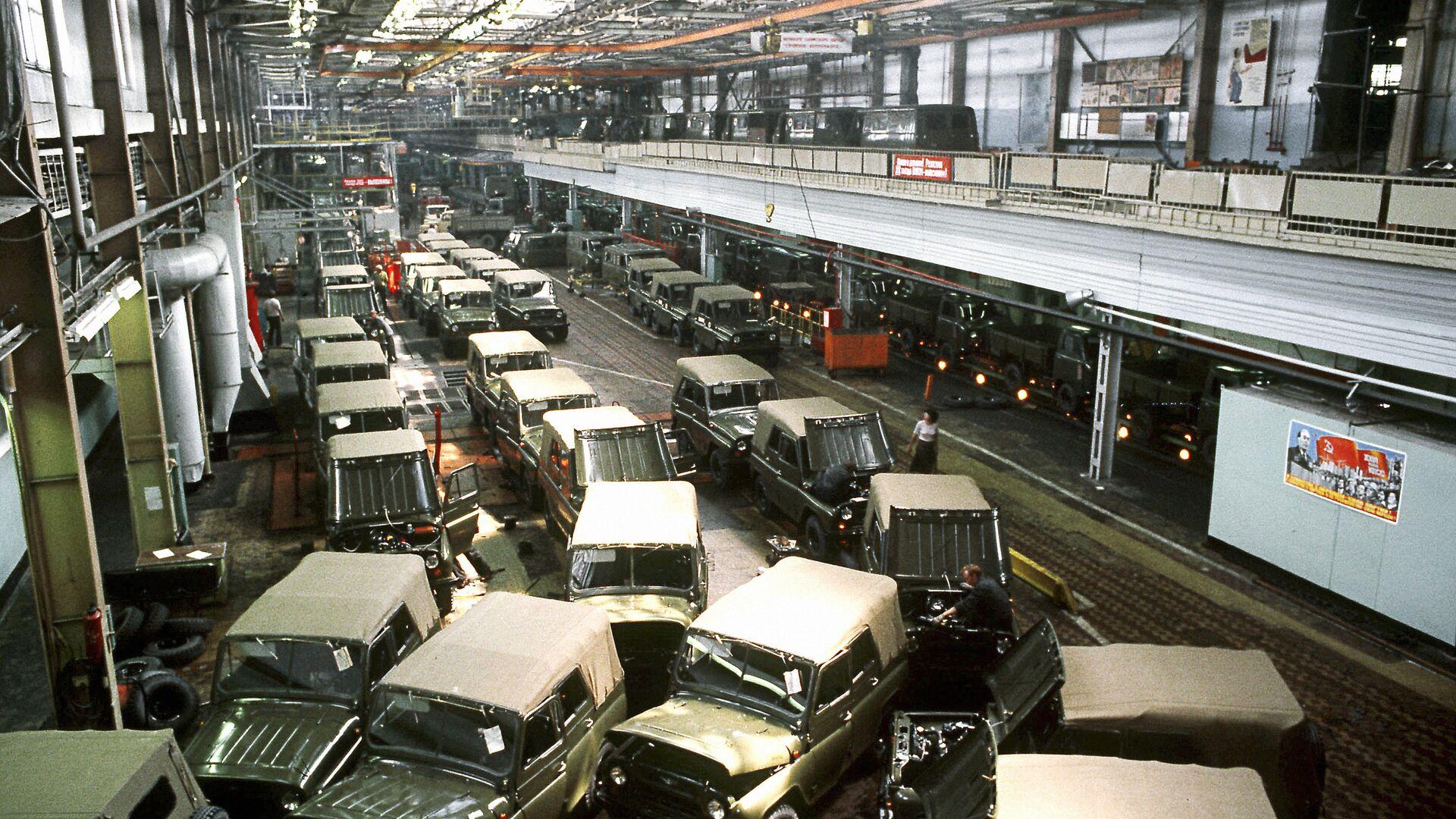 Uljanovska fabrika automobila (UAZ) - Sputnik Srbija, 1920, 12.09.2021