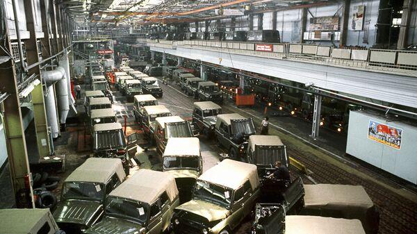 Уљановска фабрика аутомобила (УАЗ) - Sputnik Србија