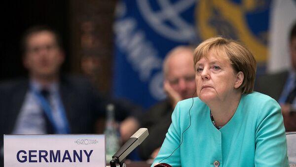 Nemačka kancelarka Angela Merkel na ceremoniji otvaranja samita G20 u Kini - Sputnik Srbija