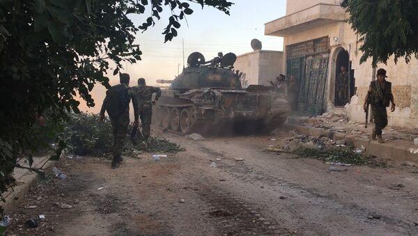 Трупе сиријске армије у Алепу - Sputnik Србија