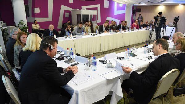 Konferencija (Re)Balkanizacija Zapadnog Balkana) u hotelu Zira - Sputnik Srbija