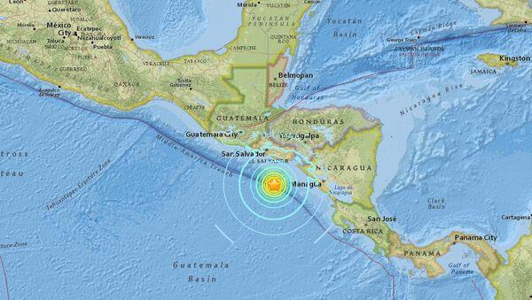 Epicentar zemljotresa 153 kilometara od obale Salvadora - Sputnik Srbija