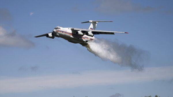 Amfibijski avion Iljušin Il-76TA - Sputnik Srbija