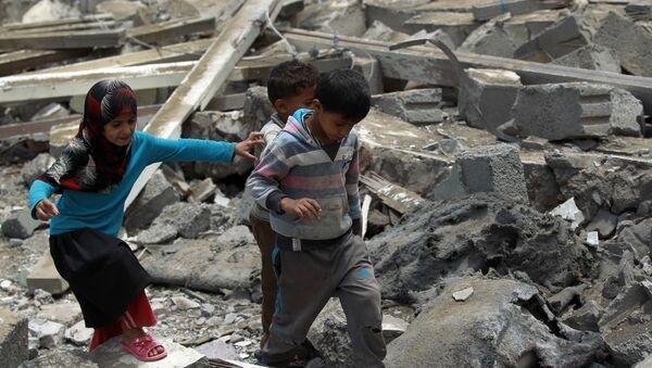 Деца у Јемену - Sputnik Србија