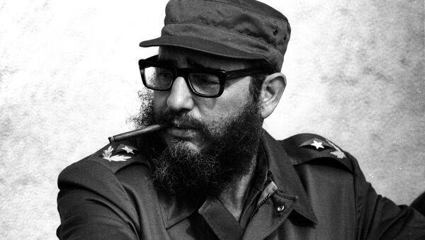 Fidel Kastro u Havani, novembar 1976. - Sputnik Srbija