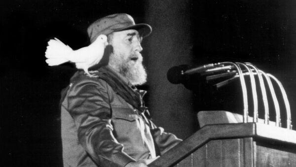 Kubanski lider Fidel Kastro - Sputnik Srbija