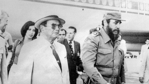 Josip Broz Tito i Fidel Kastro - Sputnik Srbija