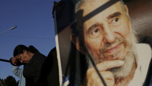 Odavanje pošte preminulom Fidelu Kastru u Havani - Sputnik Srbija