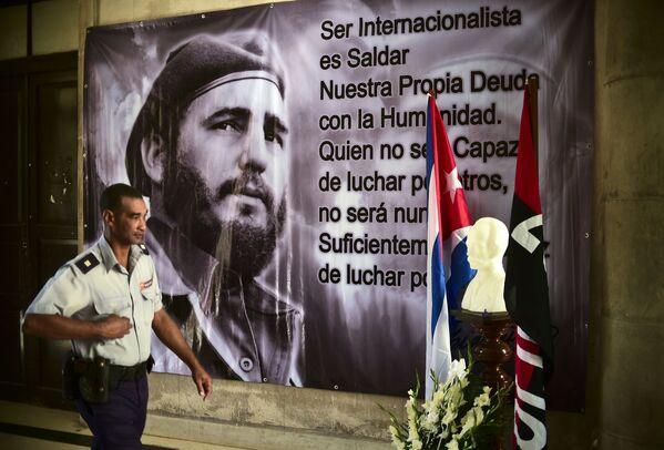 Хавана одаје почаст преминулом лидеру и чувеном револуционару Фиделу Кастру. - Sputnik Србија