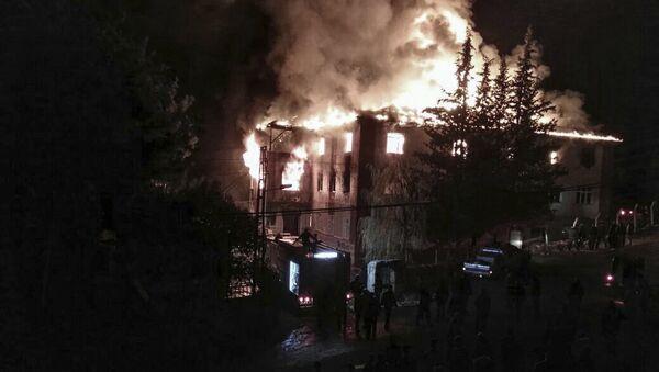 Požar u učeničkom domu u Adani - Sputnik Srbija
