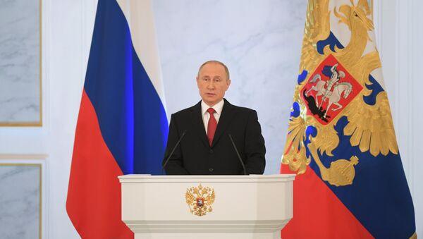 Godišnje obraćanje predsednika RF Federalnoj skupštini - Sputnik Srbija