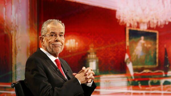 Predsednički kandidat na izborima u Austriji Aleksander van der Belen - Sputnik Srbija