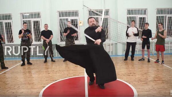 Sveštenik, aikido majstor - Sputnik Srbija