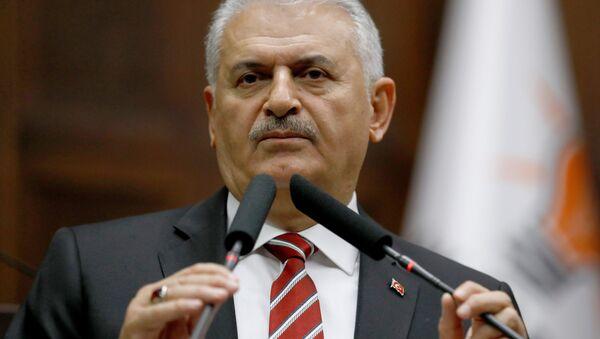 Премијер Турске Бинали Јилдирим - Sputnik Србија