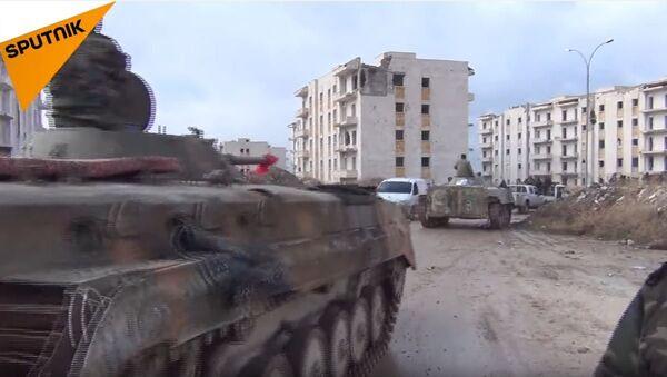 Сиријска војска учвршћује положаје на путу за аеродром код Алепа - Sputnik Србија