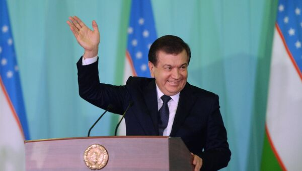 Predsednik Uzbekistana Šavkat Mirzijojev - Sputnik Srbija