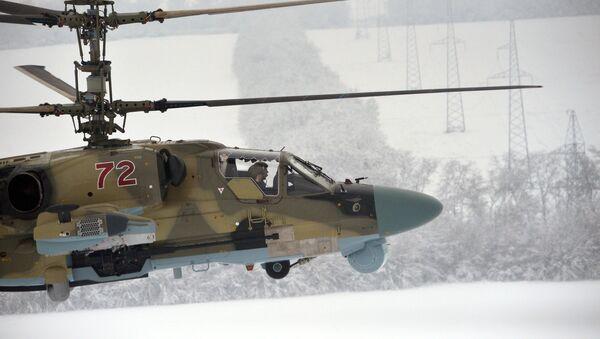 Ruski udarni helikopter Ka-52 - Sputnik Srbija