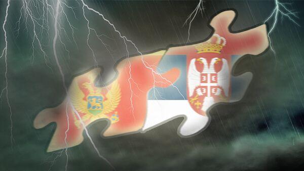 Црна Гора и Србија - илустрација - Sputnik Србија
