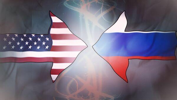 SAD i Rusija - ilustracija - Sputnik Srbija