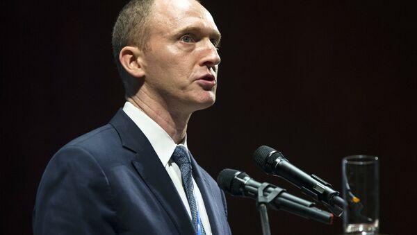 Karter Pejdž, savetnik novoizabranog američkog predsednika Donalda Trampa - Sputnik Srbija