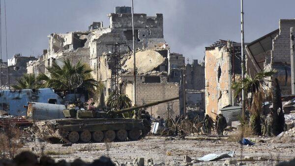 Sirijksa vojska u Alepu, Sirija - Sputnik Srbija