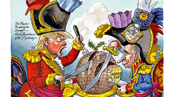 Карикатура британског магазина - Sputnik Србија