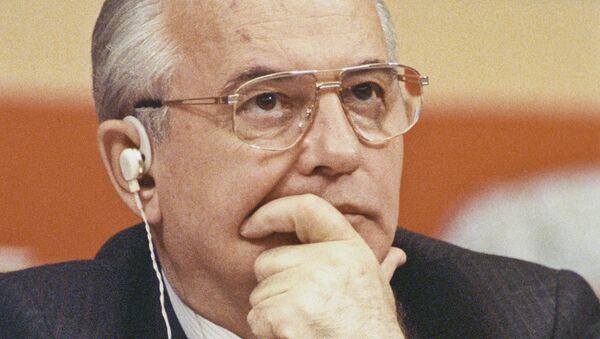 Mihail Gorbačev - predsednik SSSR-a - Sputnik Srbija