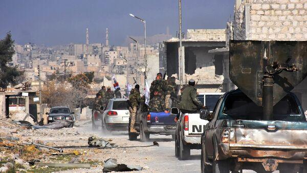 Сиријска војска у Алепу - Sputnik Србија