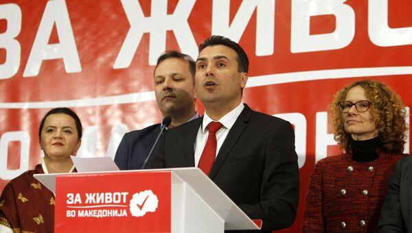 Зоран Заев, лидер СДСМ - Sputnik Србија