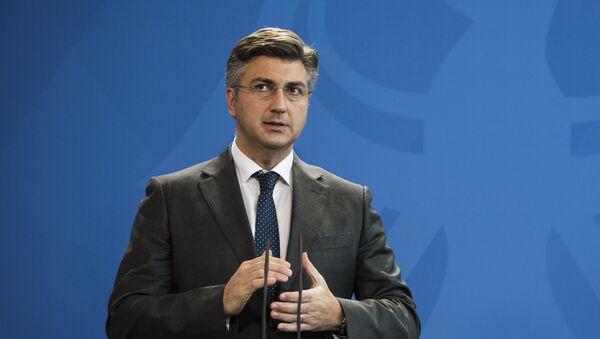 Председник ХДЗ-а Андреј Пленковић - Sputnik Србија