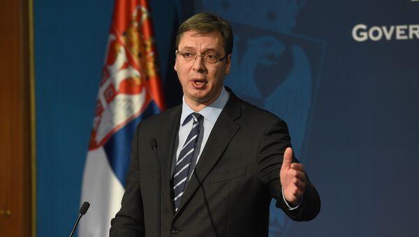 Премијер Србије Александар Вучић - Sputnik Србија