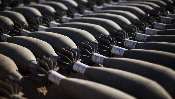 Minobacačke granate ostavljene pri povlačenju terorista DAEŠ-a u Mosulu - Sputnik Srbija