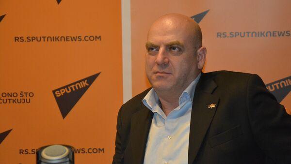 Samvel Ajvazjan, predsednik Jermenske zajednice u Srbiji - Sputnik Srbija