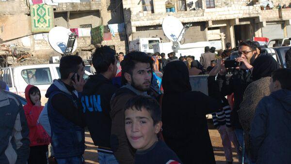 Situacija u Alepu, Sirija 12.15.2016. godine - Sputnik Srbija