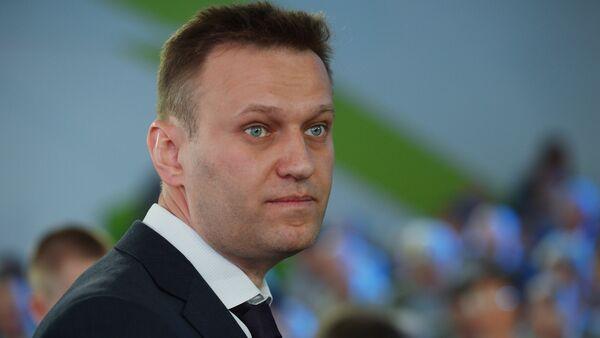 Pravnik i političar Aleksej Navaljni na sastanku akcionera Sberbanke - Sputnik Srbija