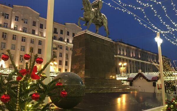 Moskva - u susret praznicima - Sputnik Srbija