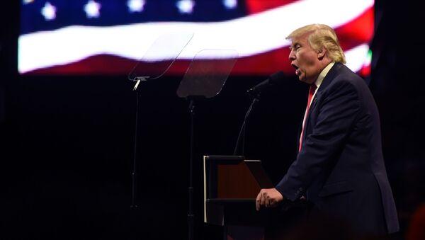 Izabrani predsednik Donald Tramp - Sputnik Srbija
