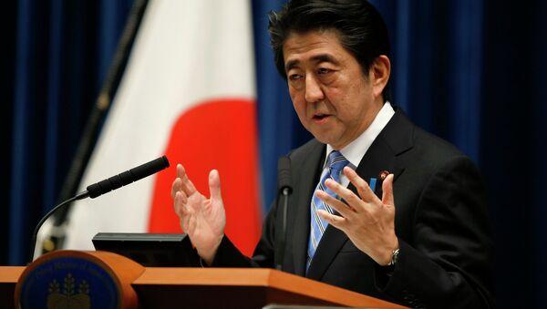 Japanski premijer Šinzo Abe - Sputnik Srbija