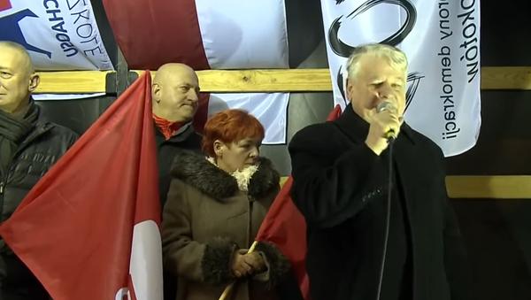 Protesti u Varšavi - Sputnik Srbija
