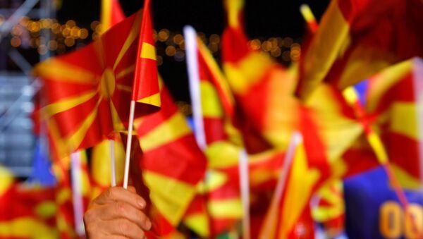 Politički skup u Skoplju - Sputnik Srbija